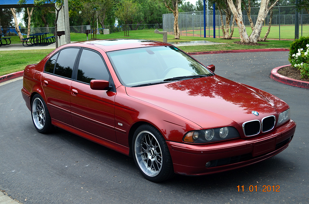 E39 Feeler 2001 530i Sport 5 Speed Ultra Rare Sienna Red With Beige 185k Miles 7000