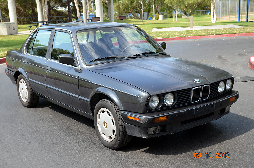 1991 bmw us e30 318i 4 door sedan. Black Bedroom Furniture Sets. Home Design Ideas