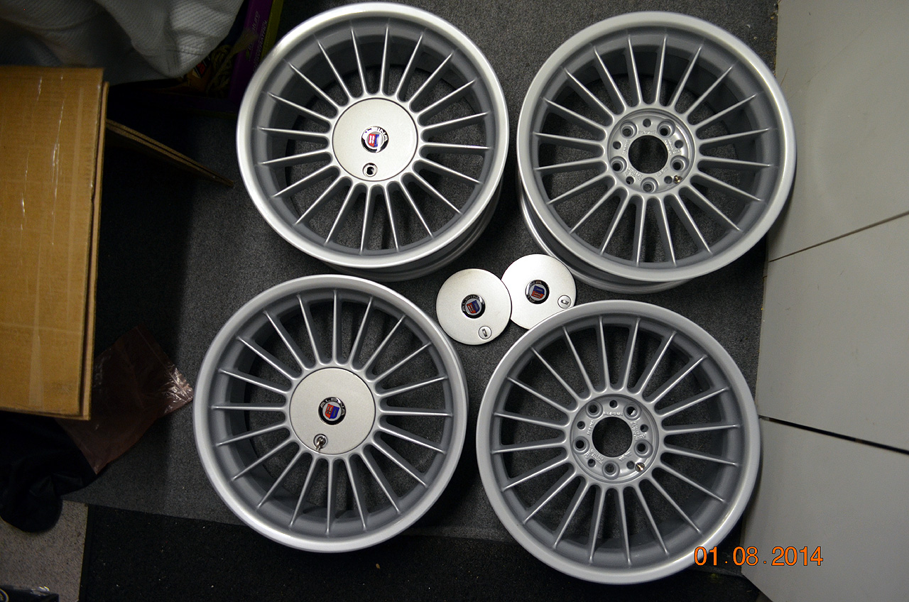 E Alpina Staggered Wheels - Alpina bmw parts