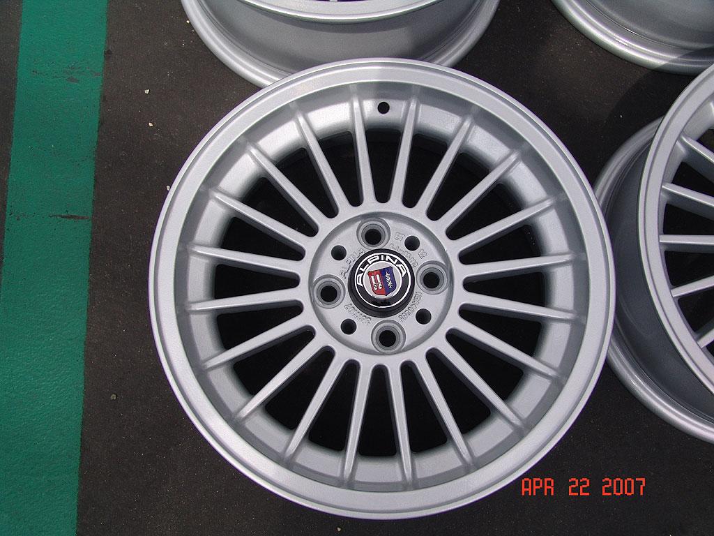 2002 E21 Alpina Wheels