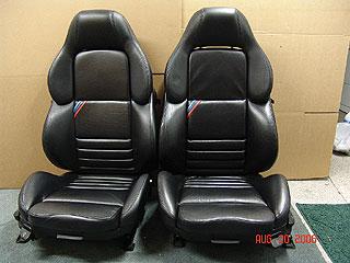 E36 M3 Black Vader Sport Seats