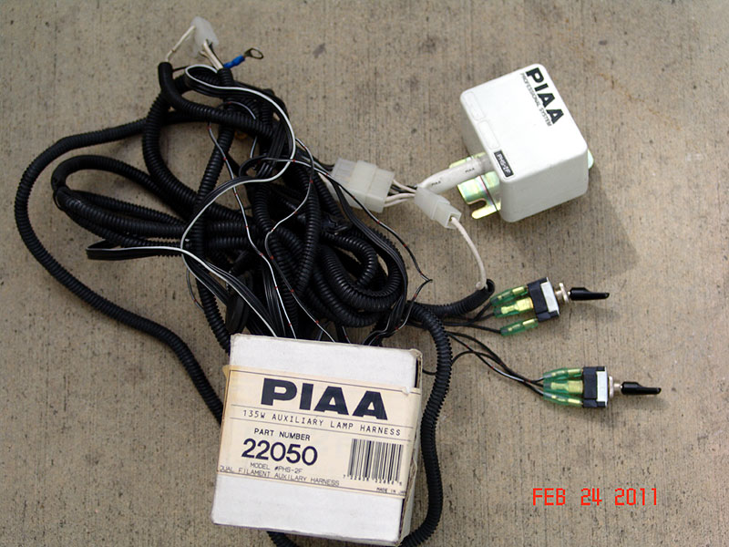 piaawh 1 piaa 135w dual beam wiring harness piaa wiring harness at readyjetset.co